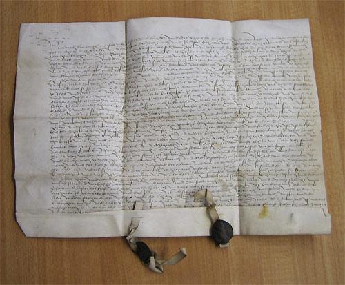 Pergamentbrief